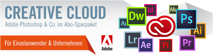 Zur Adobe Creative Cloud bei Cyberport