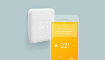 tado smart thermostat heizungssteuerung g nstig online kaufen. Black Bedroom Furniture Sets. Home Design Ideas
