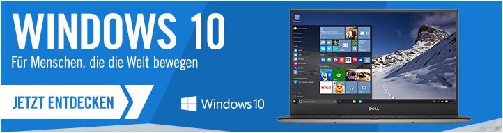 Zu Windows 10 bei Cyberport