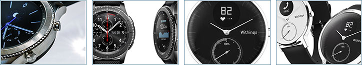 Zur Samsung Gear S3 & Withings Steel HR