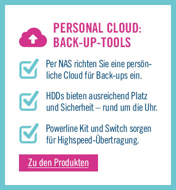 Zu den Back-up Tools für die Cloud