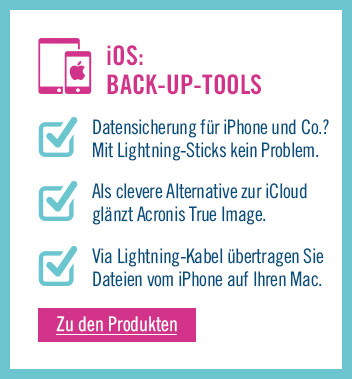Zu den Back-up Tools für iOS
