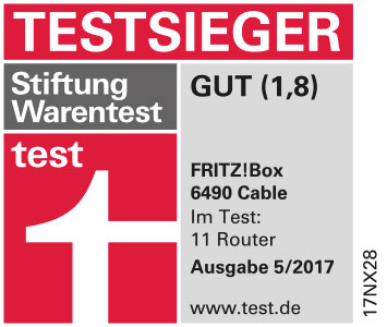 Zur FRITZ!Box 6490 Cable