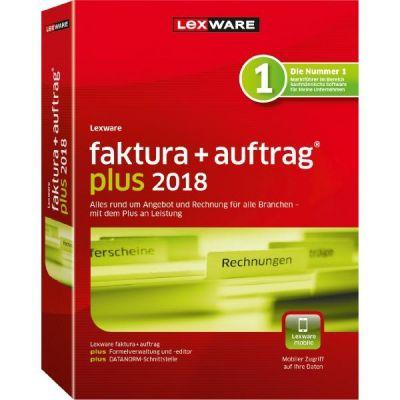 Lexware Faktura + Auftrag plus 2018 Jahresversion (365-Tage) - broschei