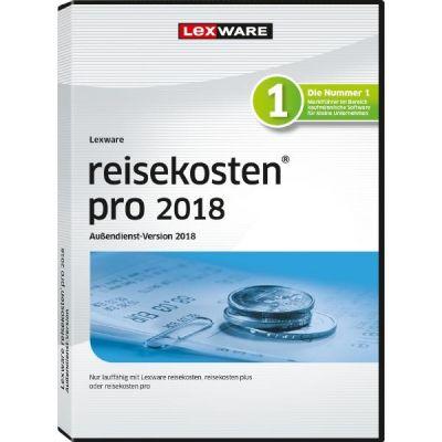 Lexware reisekosten pro 2018 Aussendienst Jahre...