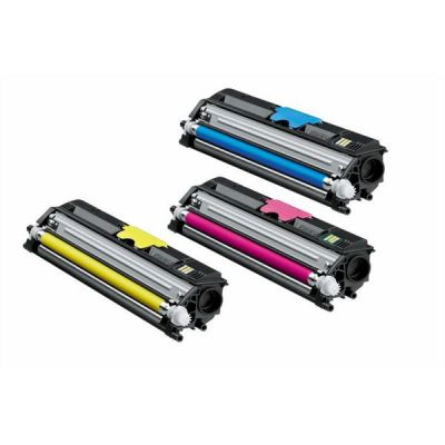 Konica Minolta Lasertoner Value Pack yellow, magenta und cyan je 2500 Seiten f.r MagiColor 16xx