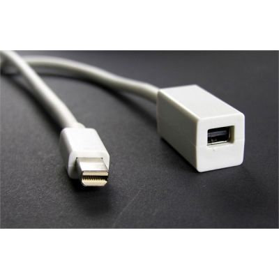 Dr Bott Dr.Bott Mini DisplayPort-Verlängerung Passiv 1m
