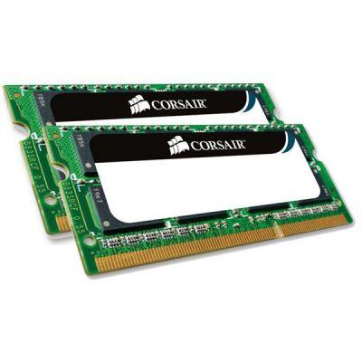 Corsair 8GB (2x4GB)  ValueSelect DDR3-1066 CL7 (7-7-7-20) RAM SO-DIMM - Kit