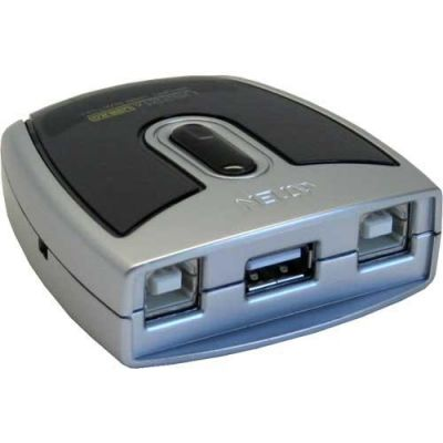 Aten 2-Port USB 2.0 Peripheral Switch US-221A, USB-Hub