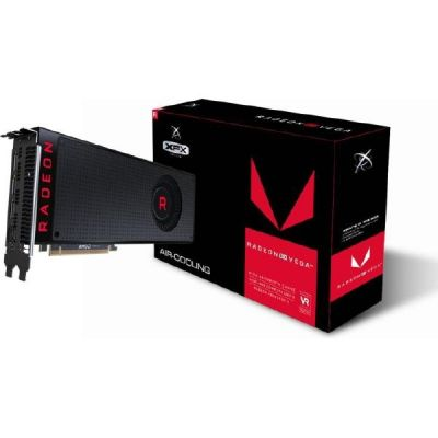 XFX AMD Radeon RX Vega 64 Black Fan Grafikkarte 8GB HBM2 3xDP/HDMI