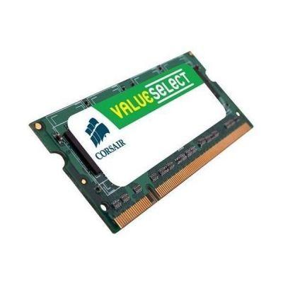 Corsair 2GB (1x2GB)  ValueSelect DDR2-800 CL5 SO-DIMM RAM Speicher