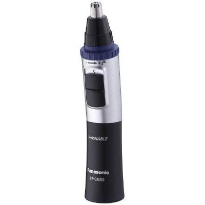 Panasonic ER-GN 30 K 503 Nasen-/Ohrhaarschneider schwarz/silber