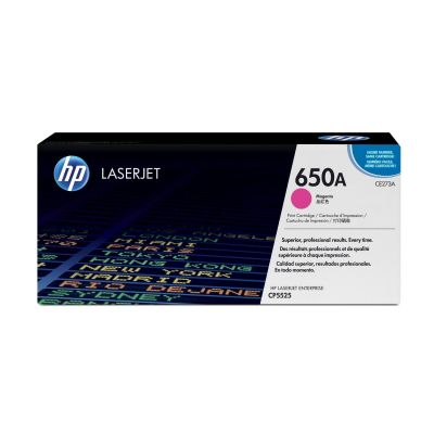 HP CE273A Original Tonerkassette 650A magenta - Preisvergleich