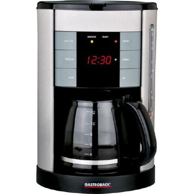 Gastroback Design Coffee Aroma Plus Kaffeemaschine 42703