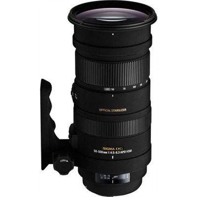 Sigma 50-500mm f/4.5-6.3 DG OS HSM Tele Zoom Objektiv für Canon - Preisvergleich