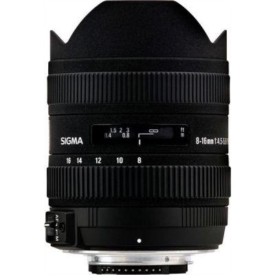 Sigma 8-16mm f/4.5-5.6 DC HSM Weitwinkel Zoom Objektiv für...