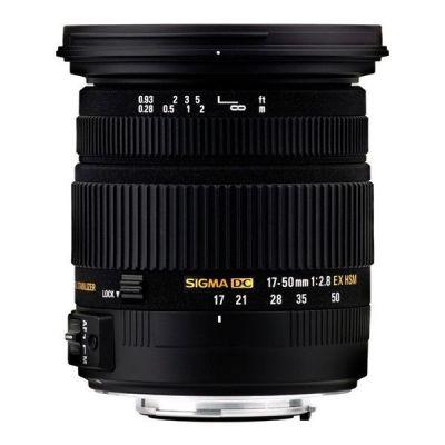Sigma  17-50mm f/2.8 EX DC OS HSM Standard Zoom Objektiv für Nikon