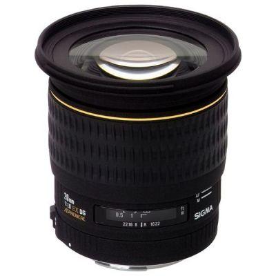 Sigma 20mm f/1.8 EX DG Festbrennweite Weitwinkel Objektiv...