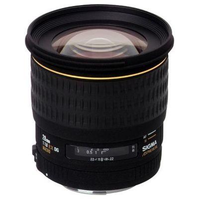 Sigma 28mm f/1.8 EX DG Festbrennweite Weitwinkel Objektiv...