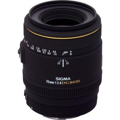 Sigma 70mm F/2,8 Makro EX DG für Canon