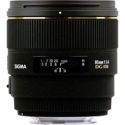 Sigma 85mm f/1.4 DG HSM Portrait Objektiv für Nikon