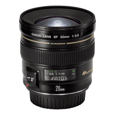Canon  EF - Weitwinkelobjektiv - 20 mm - f/2.8 USM -  EF - für EOS