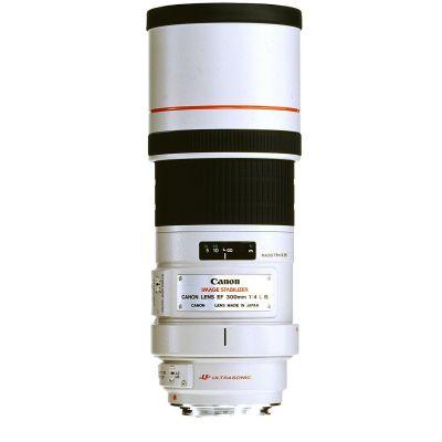 Canon  EF - Teleobjektiv - 300 mm - f/4.0 L IS USM -  EF - für EOS 1000, 1D, 50, 500, 5D, 7D, Kiss F, Kiss X2, Kiss X3, Rebel T1i, Rebel XS, Rebel