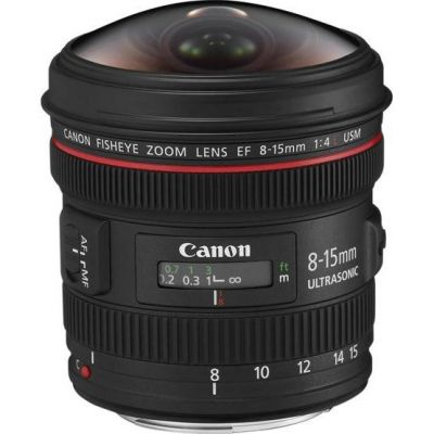 Canon EF 8-15mm 4.0L USM Fisheye Zoom Objektiv