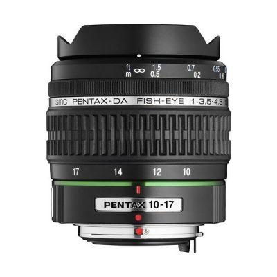 Pentax smc DA 10-17mm f/3.5-4.5 ED Weitwinkel Zoom Objektiv
