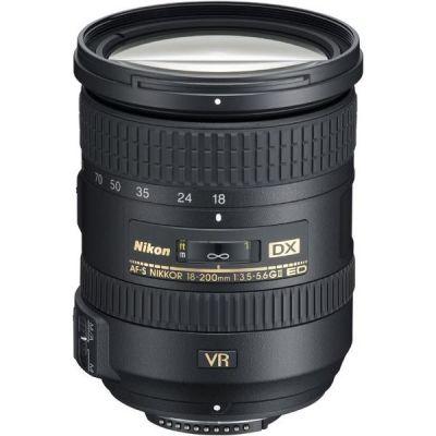 Nikon AF-S DX Nikkor 18-200mm f/3.5-5.6 G ED VR II Reise...