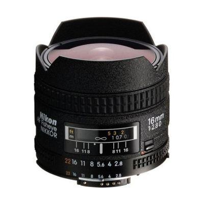 Nikon AF Nikkor 16mm f/2.8 D Weitwinkel Fisheye Objektiv