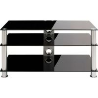 Schnepel AS 91 P TV-Rack Schwarzglas