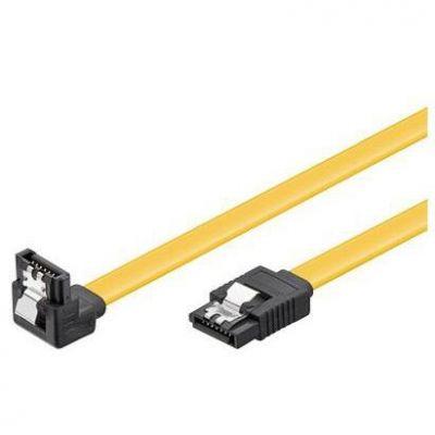 Good Connections Goobay SATA III Festplatten-Anschlusskabel gewinkelt, 0,5m