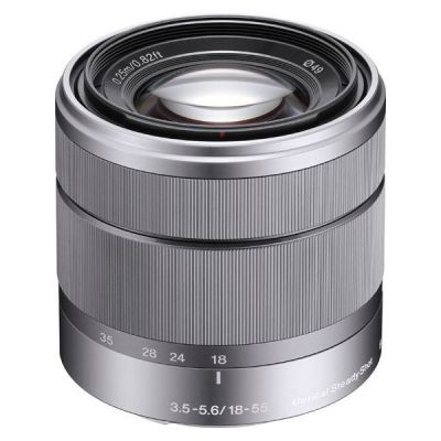 Sony 18-55mm f/3.5-5.6 E-Mount (SEL-1855) Standard Zoom...