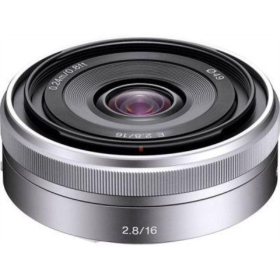 Sony 16mm f/2.8 E-Mount Pancake Weitwinkel Objektiv...