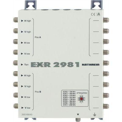 Kathrein EXR 2981 Einkabel-Multischalter 9 auf 8 - Preisvergleich
