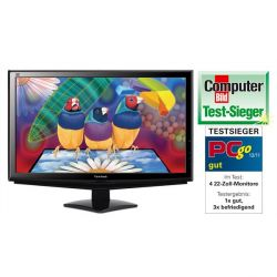 ViewSonic VA2248-LED Full HD LED Monitor (1080p, 16:9, 5ms, 250cd/m², DVI) Bild0