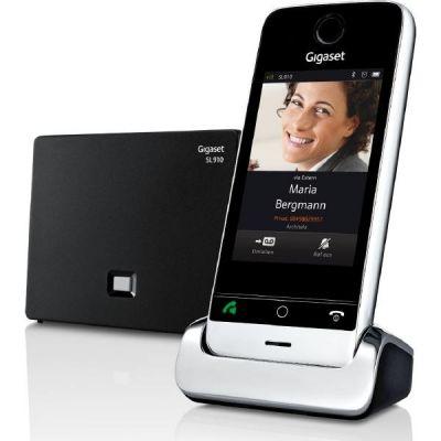 Gigaset SL910 schnurloses Festnetztelefon (analog) mit Touchscreen