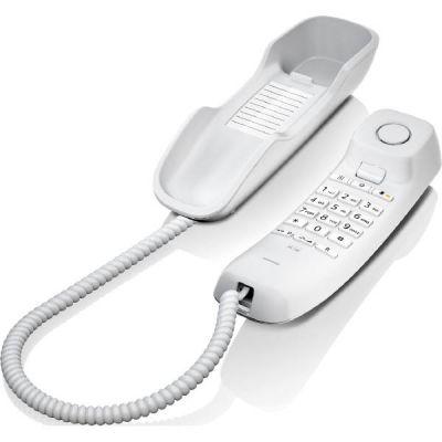 Gigaset DA210 schnurgebundenes Festnetztelefon (analog), weiß