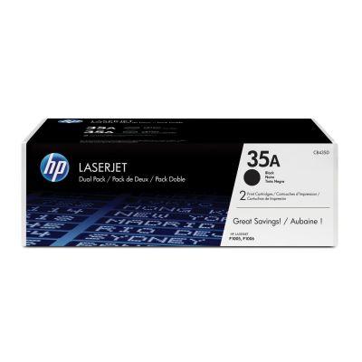 HP 35A LaserJet schwarz Doppelpack (CB435AD)