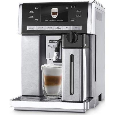 Delonghi De'Longhi Kaffeevollautomat »PrimaDonna Exclusive ESAM 6900.M«, Silber/Edelstahl