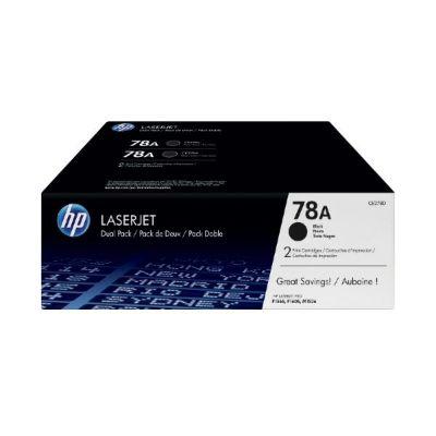 HP 78A schwarz im Doppelpack (CE278A), Toner