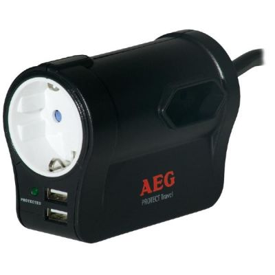 AEG Power Solution AEG Überspannungsschutz Protect Travel
