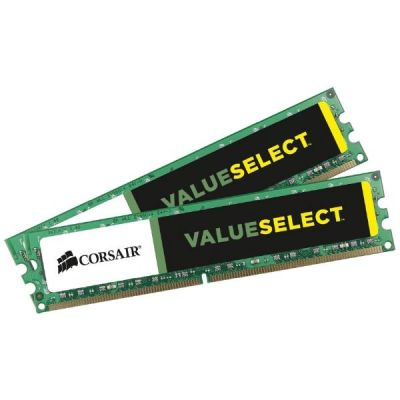 Corsair 16GB (2x8GB)  ValueSelect DDR3-1333 CL9 (9-9-9-24) RAM - Kit