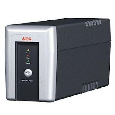 AEG Power Solution AEG Protect A 500VA 300Watt 4-fach 2x RJ11 1x USB USV