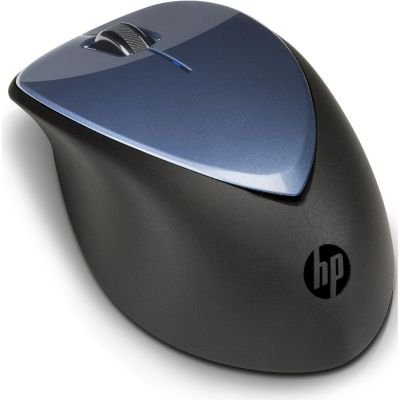 HP Wireless Laser Maus X4000 (H1D34AA) winterblau