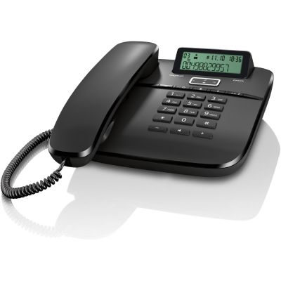 Gigaset DA 610 Schnurgebundenes Telefon schwarz