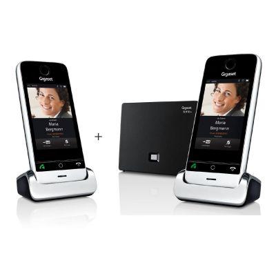 Gigaset SL910A Duo schnurloses Festnetztelefon inkl. Anrufbeantworter