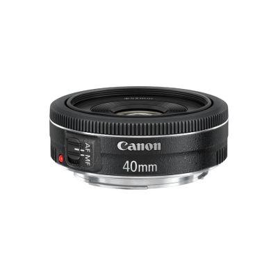 Canon  EF - Objektiv - 40 mm - f/2.8 STM -  EF - für EOS 1100, 1D, 5D, 60, 600, 650, Kiss X5, Kiss X50, Rebel T3, Rebel T3i, Rebel T4i