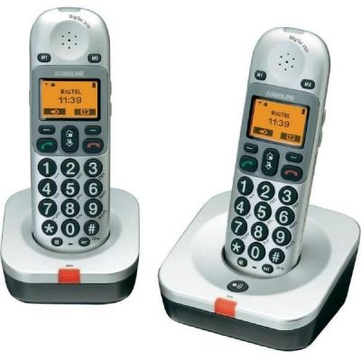 Audioline BigTel 202 schnurloses Großtastentelefon (analog)